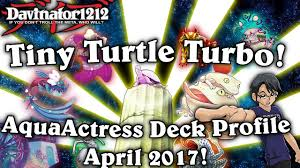 Top Ten Yugioh Decks 2017 by Toadally Awesome Tiny Turtle Turbo Aquaactress Frog Deck Profile
