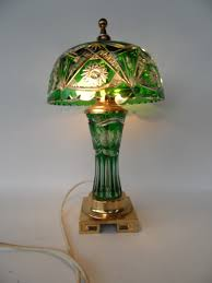 Qvc Tiffany Lamps Uk by Dresden By Peck Green Lausitzer Cut Crystal Glass Lamp Lights