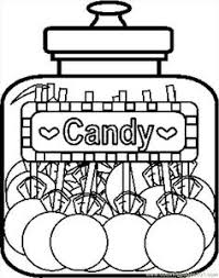 Free Printable Coloring Image Candy Cupcake Ice Cream Cone Cherry