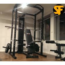 Powertec Power Rack Package Gym