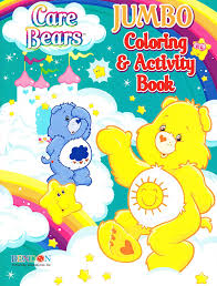 Amazon Bendon Care Bears Jumbo Color And Activity 96 Pages Set Of 4 Books Toys Games