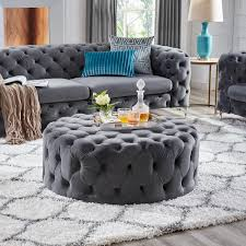 Corvus Tufted Velvet Round Ottoman With Casters | EBay Photo 7 Of 15 In Designer Hilton Carters Bodacious Baltimore Pad Fairfield 1458 Traditional Ottoman With Turned Legs And Casters Office Armchair Leather Recling On Casters G Sydney Chair With Brass Caster Lexington Home Brands Shop Fabric Upholstered Wooden Sofa Nail Head Trim Kitchen Where To Buy Ding Chairs Cheap And Bench Reviews Birch Lane Amazoncom Divano Roma Fniture Classic Tufted Faux Leather Industrial Fniture Decor Ideas For Your Overstockcom Homespot Lola Velvet Accent Gold Or Silvertone Metal Base Safavieh Chloe Taupejava Linen Club Arm Mcr4571b The Depot