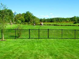 Decorative Garden Fence Home Depot by Decoration Exciting Swimming Pool Black Aluminum Fence Install
