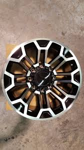 SCA Performance Ford SuperDuty 20 Inch Wheels - Machine Face With ...