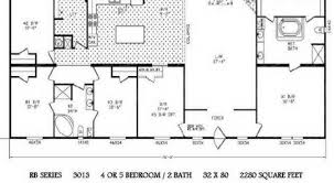 Fleetwood Triple Wide Mobile Home Floor Plans by Cool 2000 Fleetwood Mobile Home Floor Plans New Home Plans Design