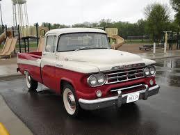 100 1959 Dodge Truck D100 Sweptside PickUp Willmar Car Show Swap Flickr