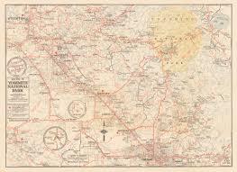 Vintage California Road Map Date 1940 HJBMaps