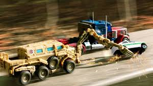 Transformers Movie 1 Optimus Prime VS Bonecrusher Truck Vehicle ...