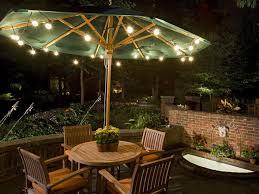 Patio Table Umbrella Walmart by Patio Umbrella Lights Ideas