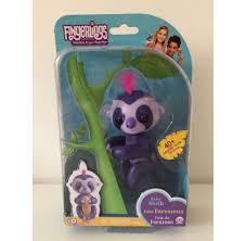 Most Popular Fingerlings Fingerling Purple Baby Sloth Toy GENUINE WowWee NEW