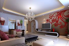 Red Element In Modern Living Room Click For Details Home Ideas