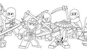 Coloring Pages Download By Lego Ninjago Kai Zx
