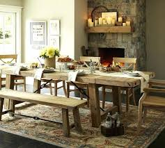 Pottery Barn Dining Room Table Oak Design Ideas