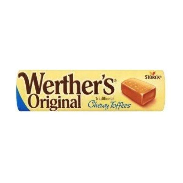 Werthers Chewy Toffees Roll 24x50g