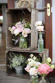 Vintage Wood Crates For A Cool Wedding