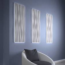 wall mounted decorative panel led easy to install light