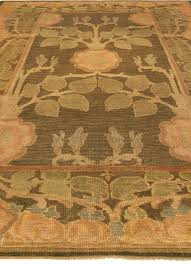 Vintage Arts & Crafts by Voysey Size Adjusted Rug BB5187 by