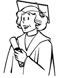 My Mother Graduation Day Coloring Pages