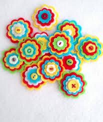 Make Itself Felt Flowers Creative Craft Ideas