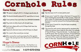 Cornhole Bean Bag Toss