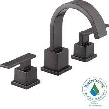 Delta Cassidy Bathroom Faucet Venetian Bronze by Bathroom Cool Widespread Faucet For All Your Bathroom Needs