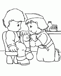 A Nurse Who Was Caring For Coloring Pages