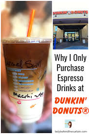 Dunkin Donuts Pumpkin Spice Latte Recipe by Why I Only Purchase Espresso Drinks At Dunkin U0027 Donuts