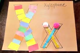 Art And Craft For Preschoolers On Transportation Letter X Crafts Preschool Kindergarten