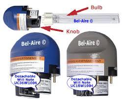uc36w1006 honeywell ultraviolet 36 watt replacement bulb