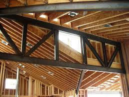 steel truss design for custom home u2014 evstudio architect engineer