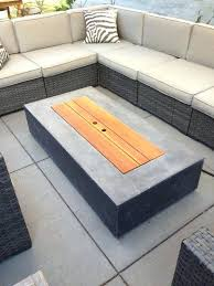 Gas Fire Table Outdoor Insert To Transform Into Coffee When Not