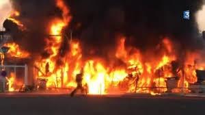 2 blessés et 40 bateaux brûlés dans l incendie de la pointe
