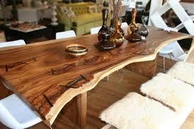 table de cuisine en bois massif table en bois massif brut 28 tables à manger rustiques bois