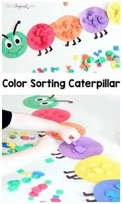 Shape And Color Sorting Caterpillar