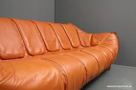 Percival Lafer Brazilian Leather Sofa by Furniture Inc