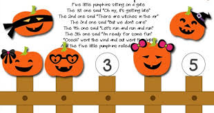 Printable Pumpkin Books For Preschoolers by Five Little Pumpkins Printable Activity Totschooling Toddler