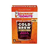 Dunkin Donuts Cold Brew Coffee Packs Smooth Rich Ground Coffee846 Ounce Pack Of 6
