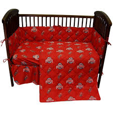Ohio State Buckeyes 5pc. Baby Crib Bedding Set | Baby | Baby Crib ... Hardwood Rocking Chair Ohio State Jumbo Slat Black Ncaa University Game Room Combo 3 Piece Pub Table Set The Best Made In Amish Chairs For Rawlings Buckeyes 3piece Tailgate Kit Products Smarter Faster Revolution Axios Shower Curtain 1 Each Michigan Spartans Trademark Global Logo 30 Padded Bar Stool