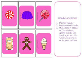 Free Candyland Board Game Clipart