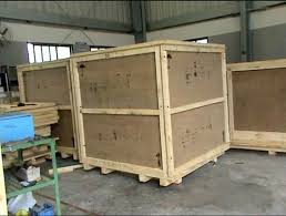 Large Wooden Shipping Boxes