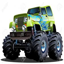 Cartoon Monster Truck Royalty Free Cliparts Vectors And Stock In ... Monster Truck Clip Art Clipart Images Clipartimagecom Cartoon Royalty Free Vector Image 4x4 Buy Stock Cartoons Royaltyfree Monster Truck Available Eps10 Vector Format With Illustrations Creative Market Red