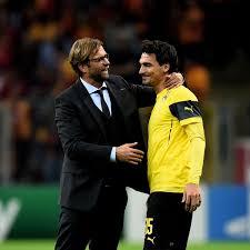 Borussia Dortmund Mats Hummels Will Jürgen Klopp