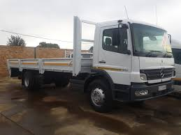 EX FLEET MERCEDES BENZ ATEGO 8 TONNE DROPSIDE TRUCK FOR SALE | Junk Mail