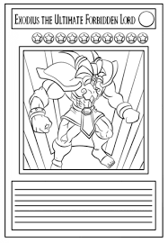 Click To See Printable Version Of Yu Gi Oh Card Coloring Page