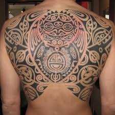 Aztec Shoulder Tattoo On TattooChief