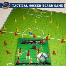 StratoFootball A Tactical Soccer Board Game