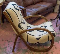 STREAMLINE LOUNGE CHAIR, Attributed To Kem Weber, Oak, Circa ...