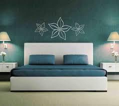 Decoration Ideas Have A Purple Flower Canvas Bedroom Wall Decor Flowers