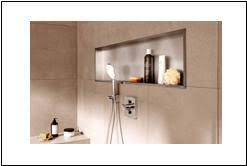 wandnische mit beleuchtung nische bad mit led edlesbad ch