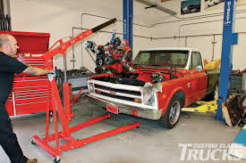 How To Drop An LS Engine In A '67-'72 Chevy - Hot Rod Network Chevy 196772 Ls Swap Transmission Crossmember 04l85classic Truck Parts 1968 Chevrolet C10 Save Our Oceans Matt Kenner Total Cost Involved Home Page Horkey Wood And 1972 Cheyenne Super Pickup Interview With Rene 1947 1948 1949 54 3 Row Alinum Radiator Bitz4oldkarz Classic American Car Parts British 68 Ls1tech Camaro Febird Forum Discussion Atomic 6772chevytruckscom Lowered Pinterest